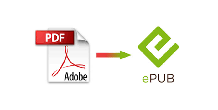 can epub files be converted to pdf