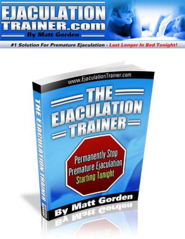 the ejaculation trainer ebook free download