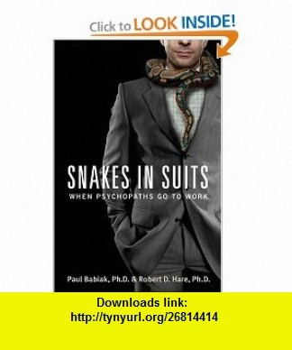 snakes in suits when psychopaths go to work epub