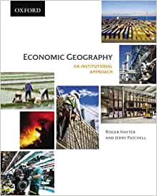 economic geography an institutional approach roger hayter free ebook online