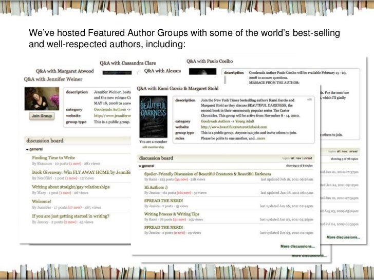 how to promote my ebook on goodreads