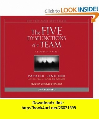 the five dysfunctions of a team epub
